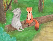 The Worried Rabbit