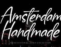 FREE | Amsterdam Handmade Font
