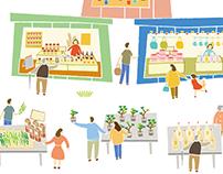 桃園農創市集 視覺規劃