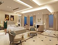 Villa Master-bedroom With Bathroom