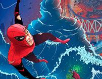 Spider-man Far From Home fan art