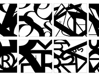 Sequential Typographic Forms in Space
