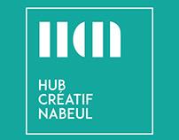 LOGOTYPE: HUB DESIGN NABEUL