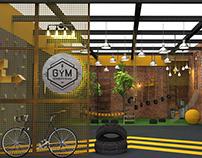 Arquitetura Conceito | GYM Treinamento Infantil