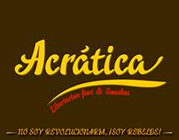 Acrática font