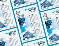 Free Modern Business Flyer Design