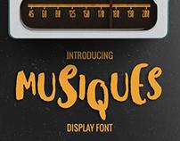 Musiques Display Font
