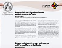 Diseño de Cartelería para Universitat de València.