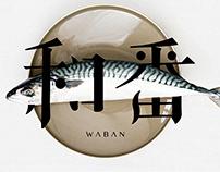 Waban 和番 | Logo Design