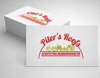 Piters Roofs logotype design