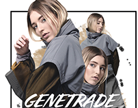 GENETRADE for Scorpio Jin Magazine MAY print issue