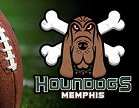 Memphis Houndogs NFL Expansion Team Concept