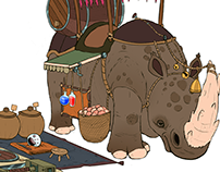 Dilon, the Merchant - Character Design