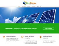 Diseño Página Web - Ecolenergy