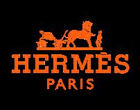 Hermès Mock Digital Campaign