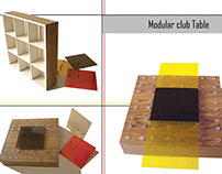 Modular TABLE - SHELF (Maquette)