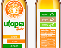 Utopia Juice Bottle