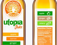 Utopia Juice Bottle