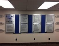 Interior Sign Displays Designs