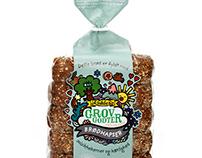 Fun Bread Packaging Designs