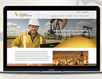 Petróleos Sudamericanos -Website