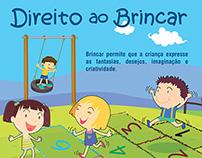 Anúncio Revista - Direito ao Brincar