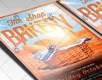 Bakery Shop - Food Flyer PSD Template