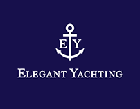 Elegant Yachting, web-site and identity design