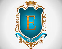 logo creation for EROC Clothings.