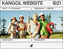 Kangol Website ✦ E-commerce