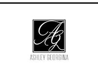Ashley Georgina Logo/Product Design & Branding