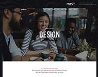 Pofo WordPress Theme - One Page Website