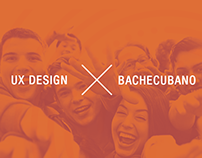 UX Design for BACHECUBANO