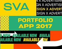 SVA PORTFOLIO APP 2017 PROMOTION