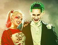 The Joker & Harley Quinn (4K Wallpaper)
