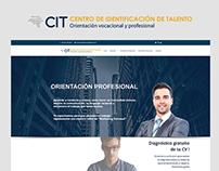 CIT Centro de Identificación de Talento | Web design