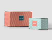 stārks - logo and packaging