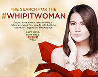 #Whipitwoman Digital Campaign