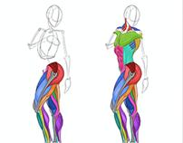 Analytical Figure Drawing Week 6: Legs
