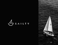 Sailty Logo design