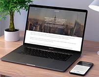 Информационная страница, веб-дизайн, news