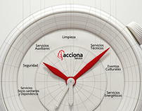 Acciona /  Advertising Graphic