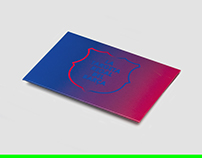 Plv & Gift Card / FC Barcelona