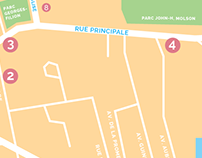 Carte de localisation - Saint-Sauveur