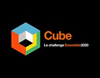 Cube - Orange game