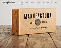 Manufactura – Handmade Products WordPress Theme
