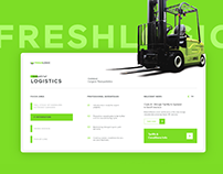Fresh Logic | Logistics/Fulfillment Corporate Website