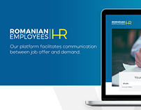 Romanian Employees Website