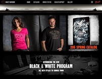 HD Dealership Website
