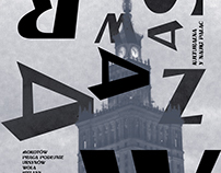 Wjazd Black - A typography for Warsaw